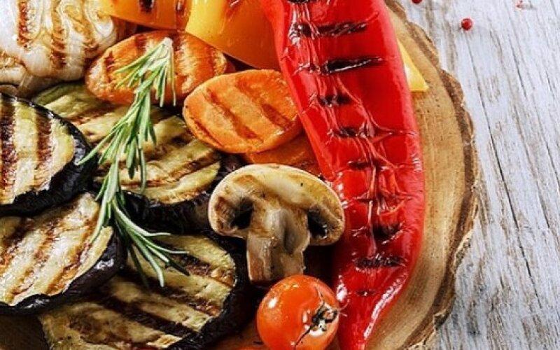 Салат «Овощи на гриле»