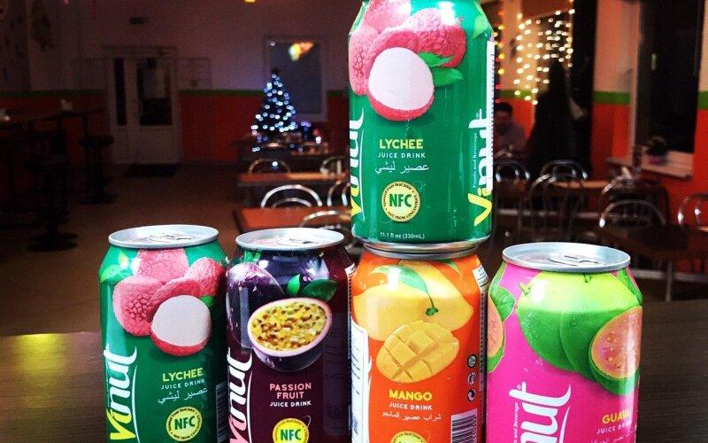Вьетнамский напиток со вкусом папайя