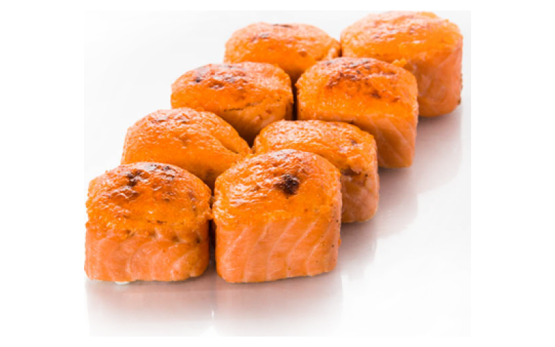 Запечённый ролл «Везувий хот»