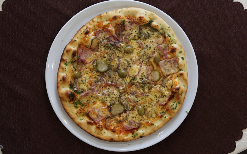 Пицца «Пикантная»