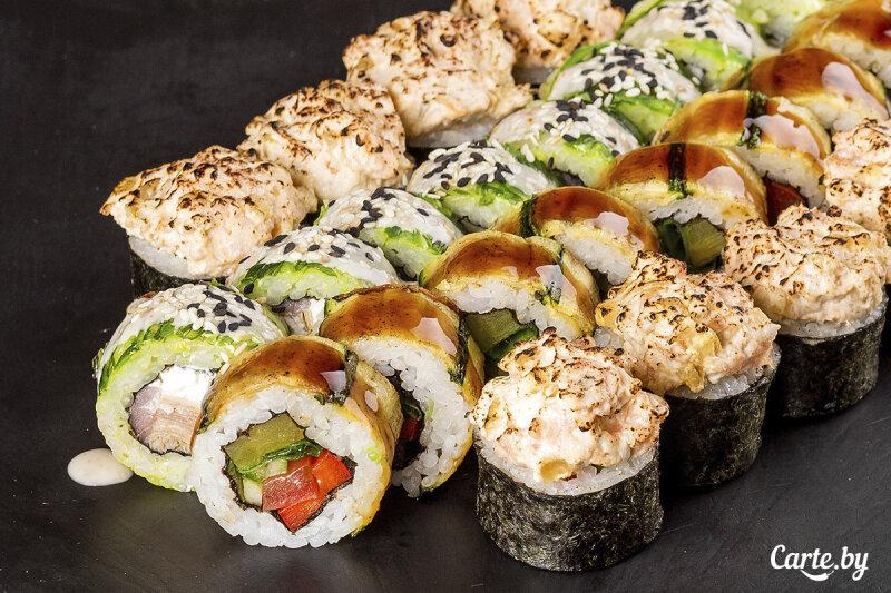 Суши-сет «Азиатский» надвоих