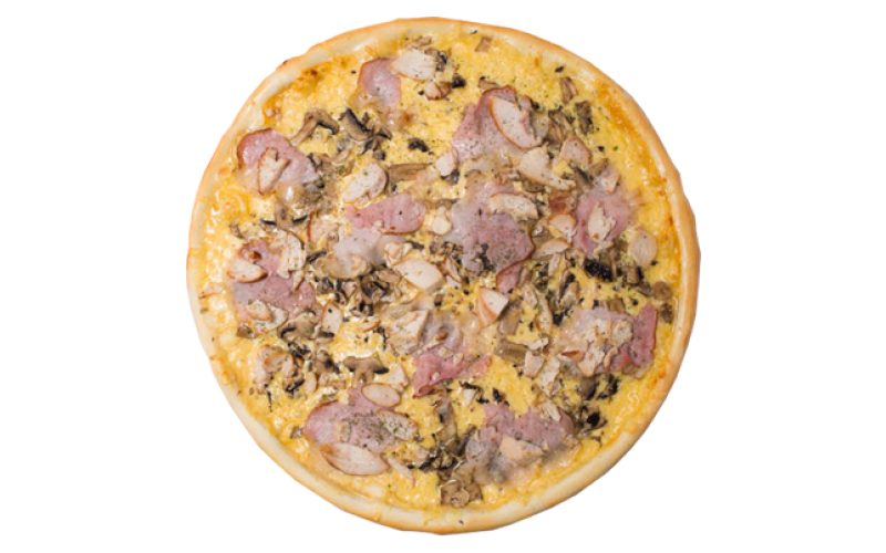 Пицца «Птица с шампиньонами»