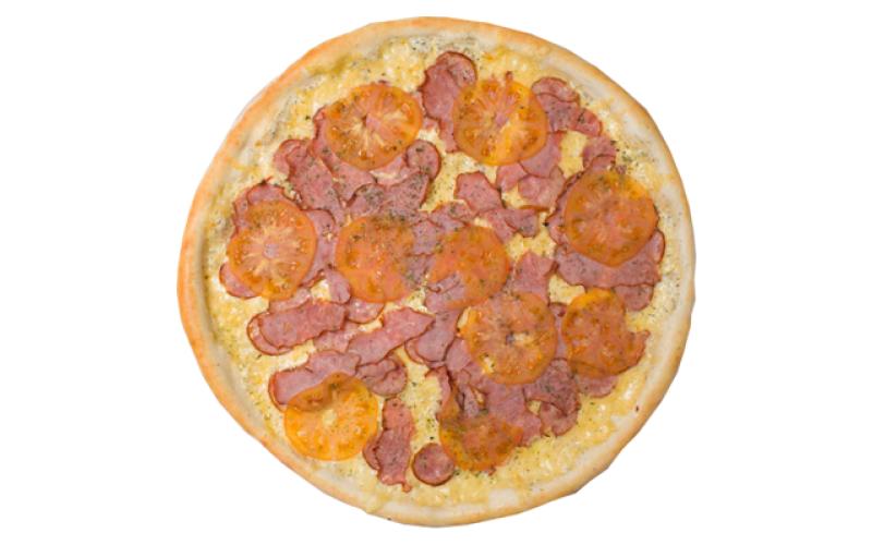 Пицца «Колбаски в сметанном соусе»