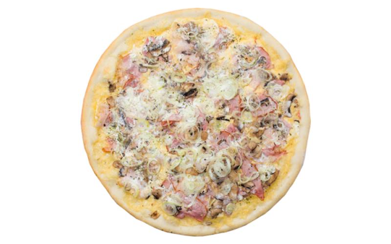 Пицца «Бекон и грибы»