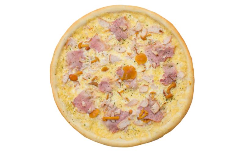 Пицца «Птица с опятами»