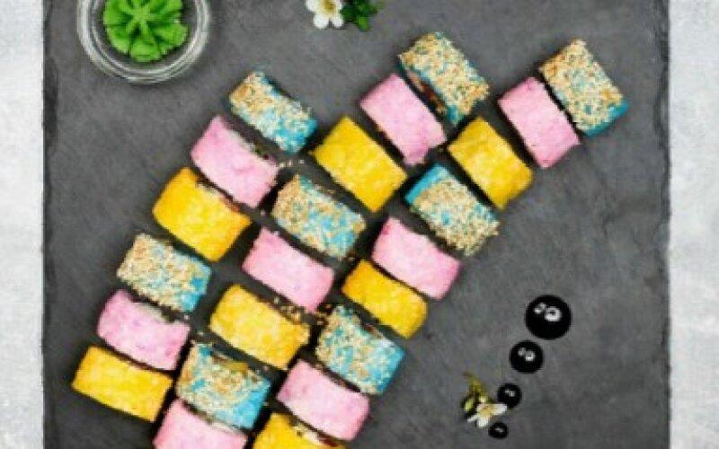 Суши-сет «Цветное настроение»