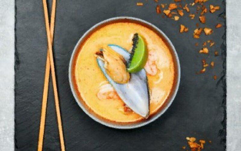 Суп «Том Ям» очень острый