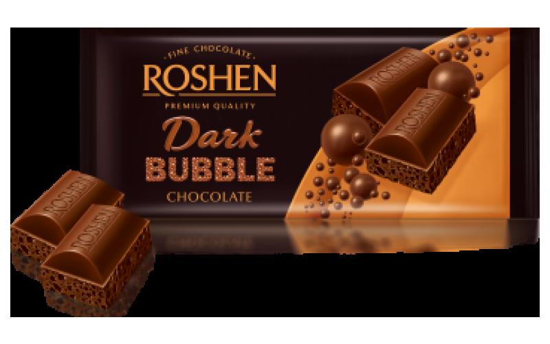 Шоколад Roshen пористый «Экстрачёрный»