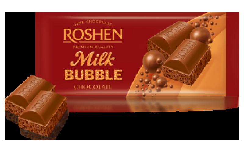 Шоколад Roshen пористый «Молочный»