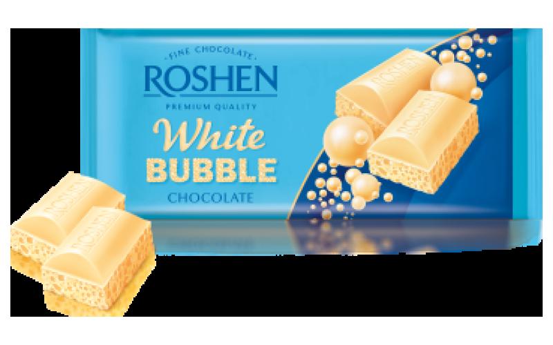 Шоколад Roshen пористый «Белый»