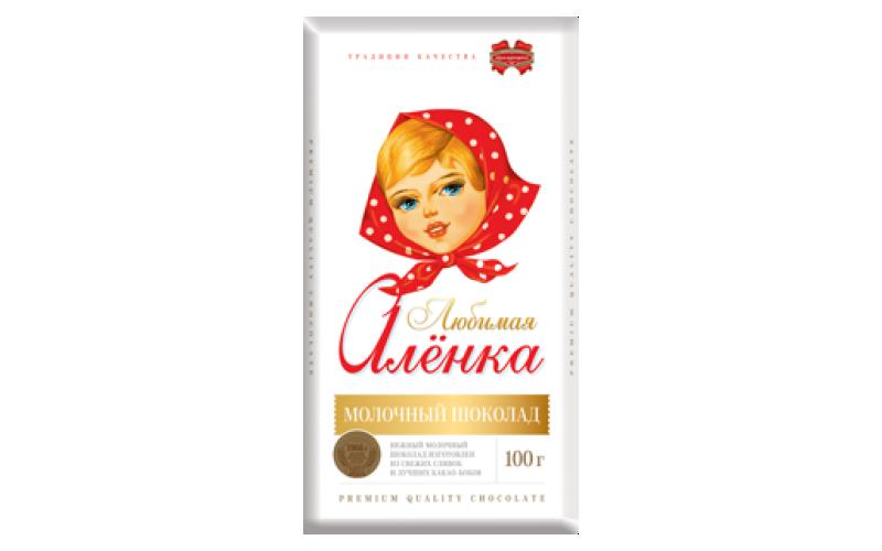 Шоколад молочный «Любимая Алёнка»