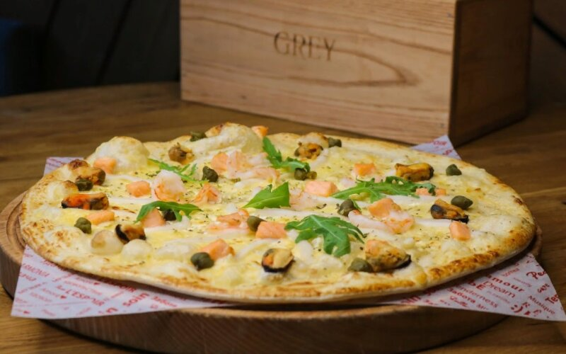 Пицца «Фрутти-ди-Маре»