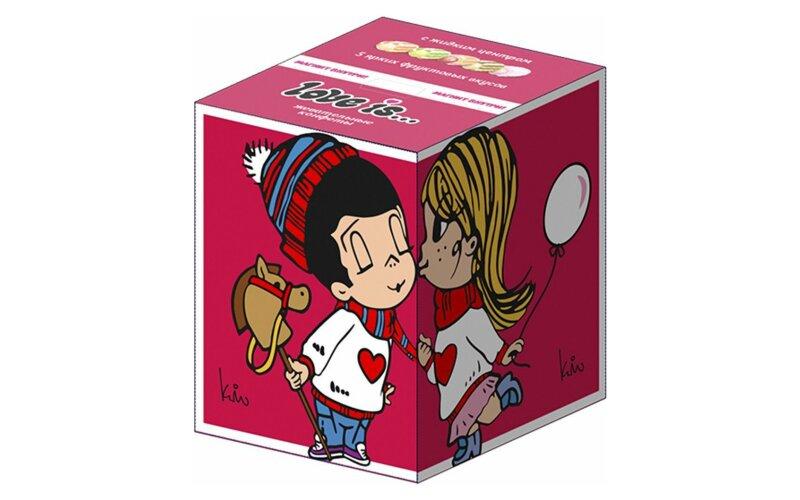 Жевательные конфеты «Love is» + магнит