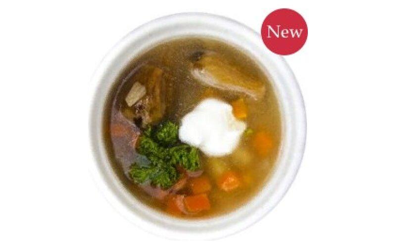 Грибной суп с подберёзовиками
