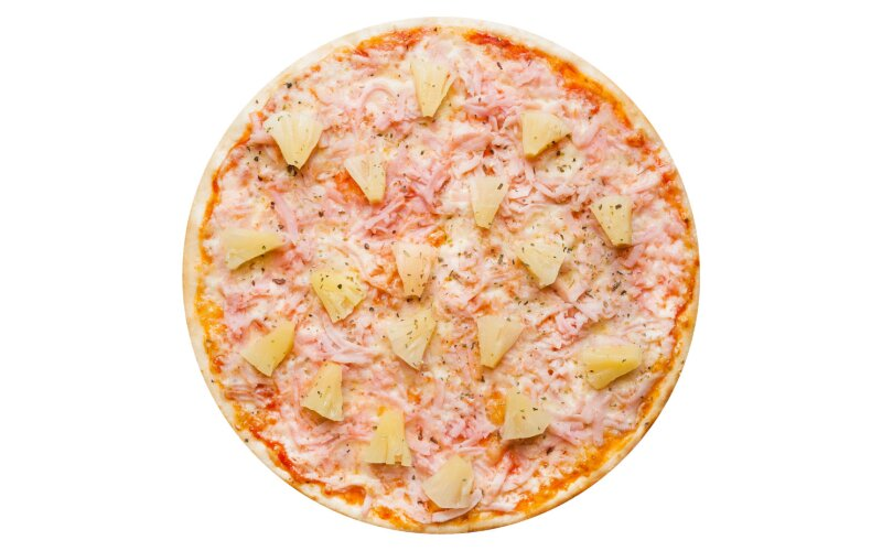 Пицца «Гавайская» с пышным краем