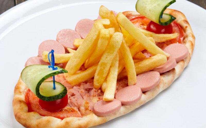 Пицца «Кораблик»