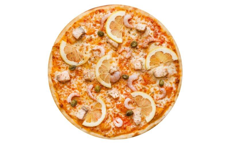 Пицца «Маринара» с пышным краем