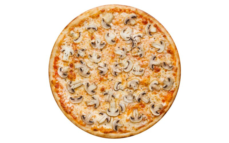 Пицца «Грибная» с пышным краем