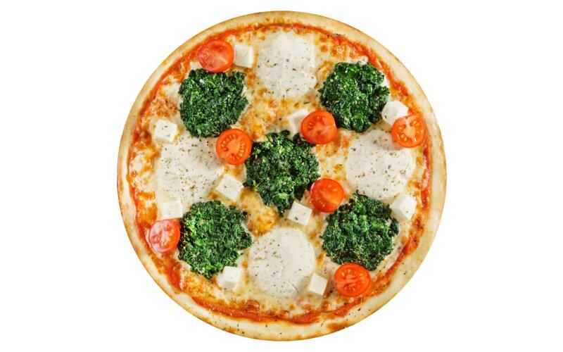 Пицца «Греческая» с пышным краем