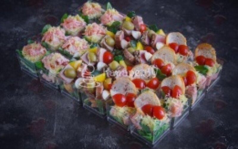 Салат сет «Золотая рыбка»