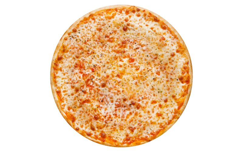 Пицца «Маргарита» с пышным краем