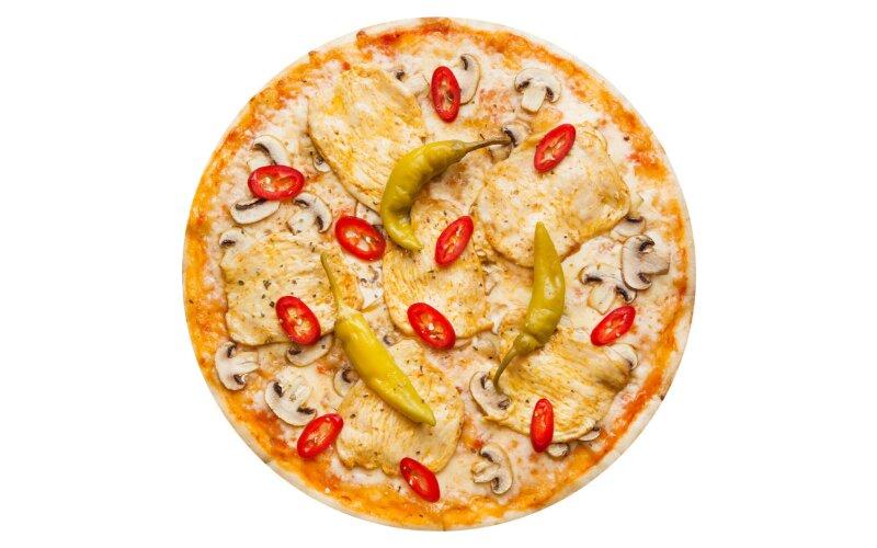 Пицца «Сицилийская» с пышным краем
