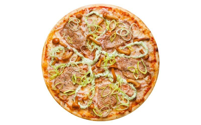 Пицца «Флорентийская» с пышным краем