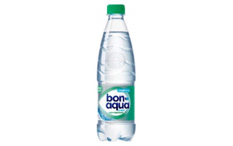 Вода минеральная BonAqua среднегазированная
