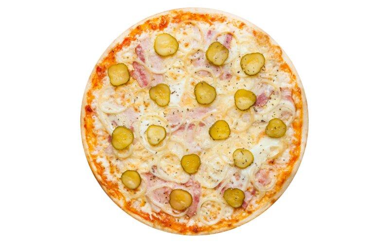 Пицца «Деревенская» с пышным краем