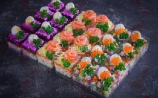 Салат сет «Русские традиции»