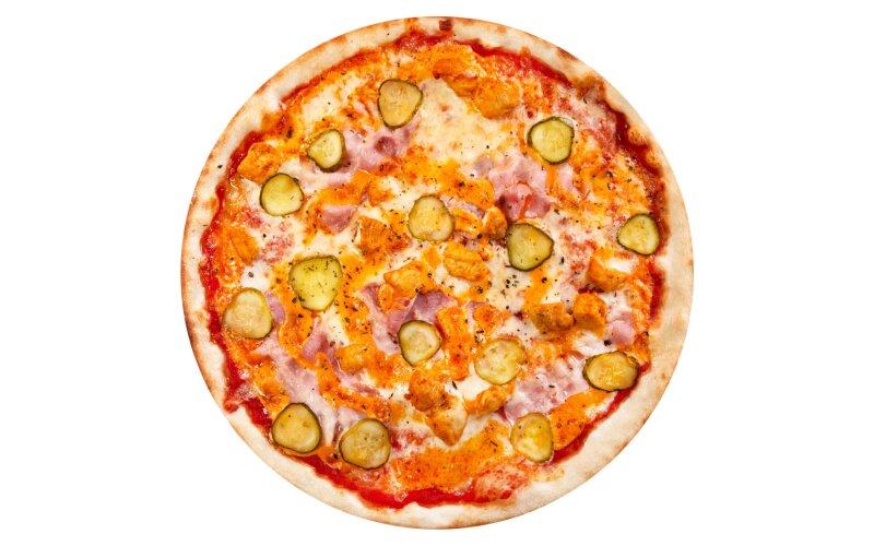 Пицца «Римская» с пышным краем