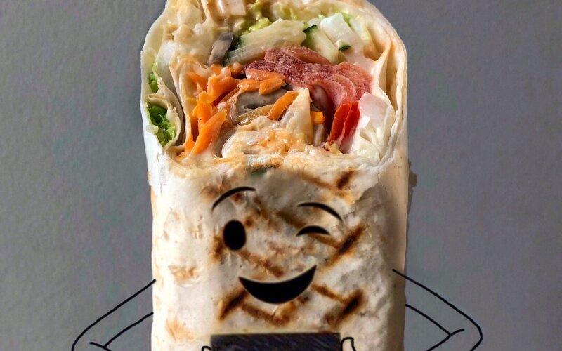 Шаурма «Вегетарианская»