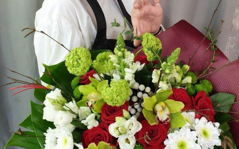 Букет цветов «Эллегия»