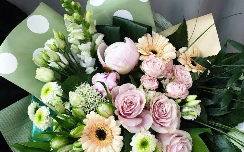 Букет цветов «Гармония»