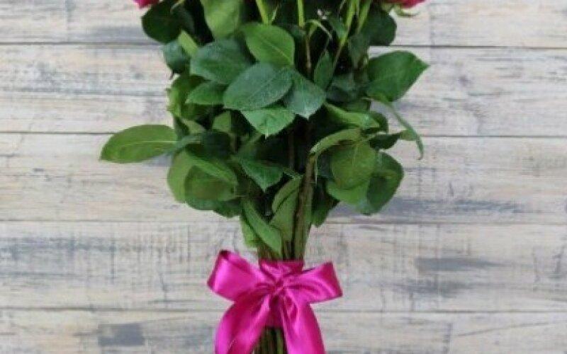 Букет из 11 роз «Пинк Флоид»