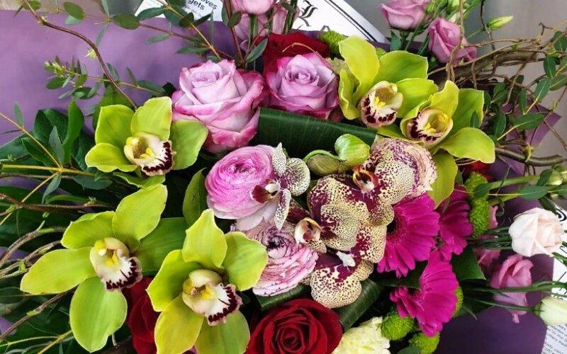 Букет цветов «Тропический»
