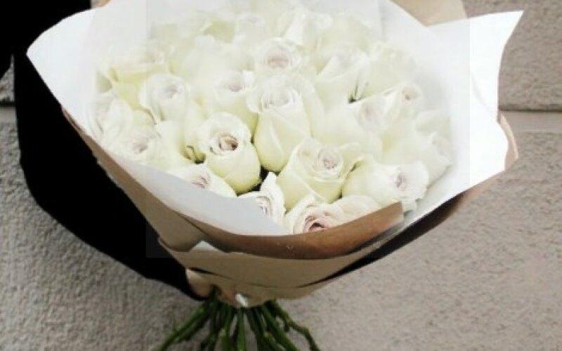 Букет «Стильный» Из 25 роз