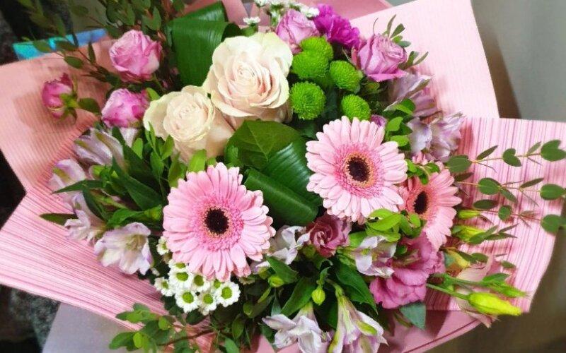 Букет цветов «Розовые сны»