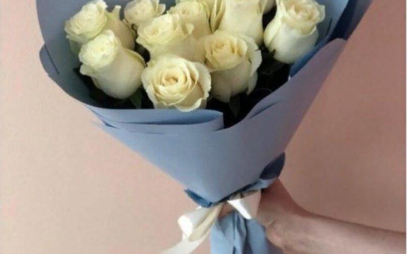 Букет «Блондинка» из 11 роз