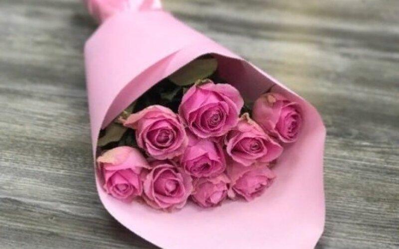 Букет «Нежный» из 11 роз