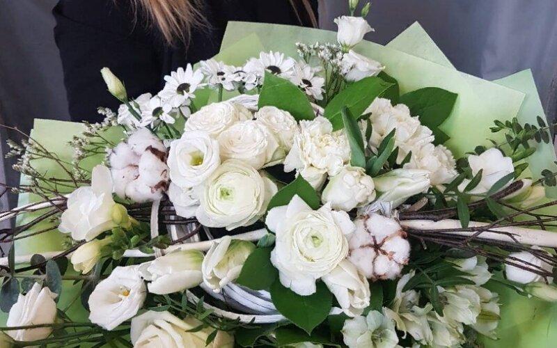 Букет цветов «Гриннери»