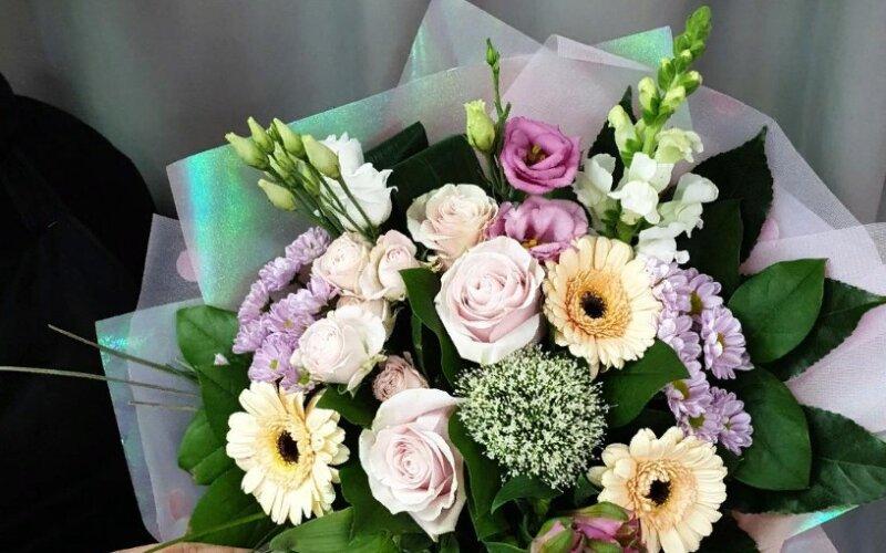 Букет цветов «Очарование»
