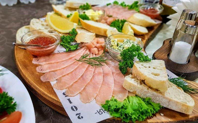 Закуска «Тартинка з риби»