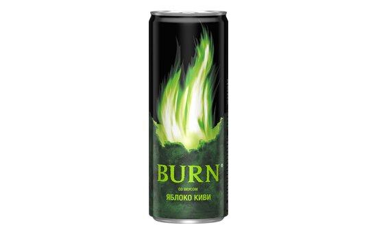 Энергетический напиток Burn «Яблококиви»