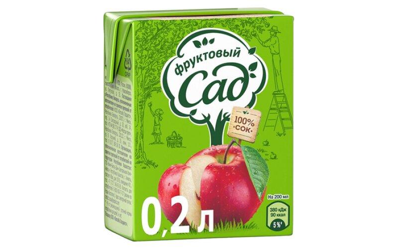 Сок «Фруктовый сад» яблочный
