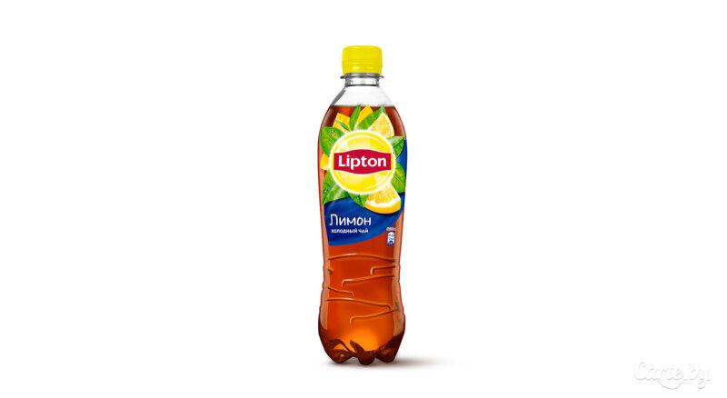 Напиток «Липтоп холодный чай со вкусом лимона»