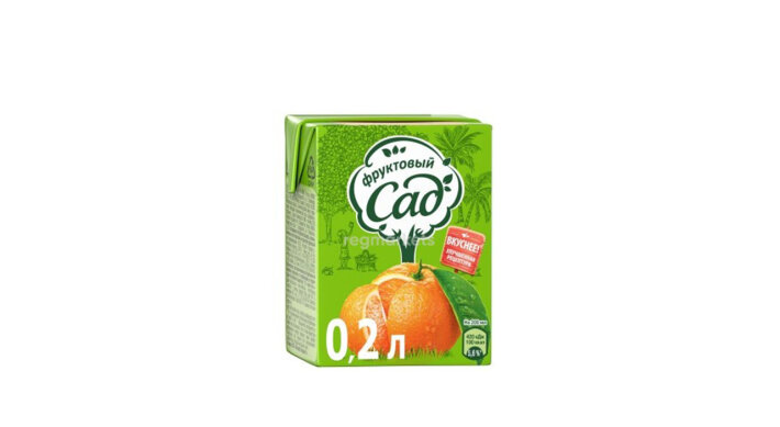 Сок «Фруктовый сад» апельсиновый