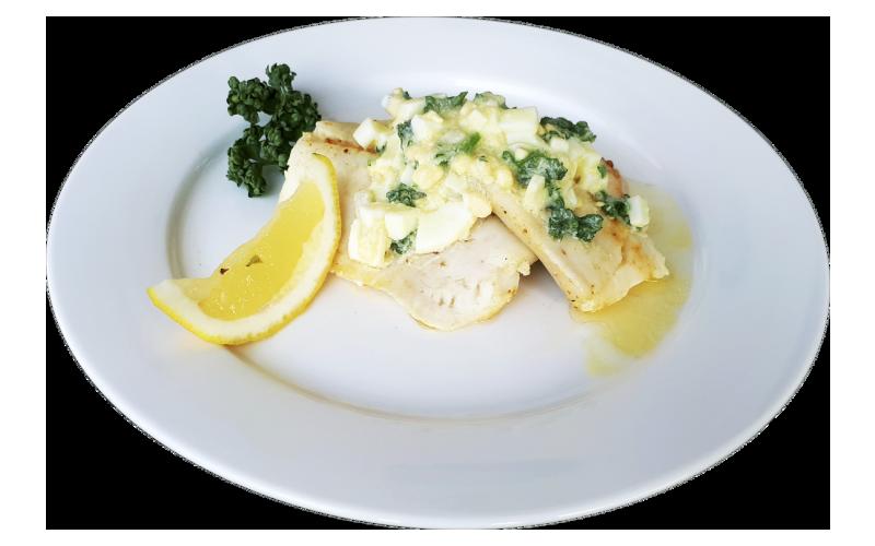 Рыба под соусом «Польский»