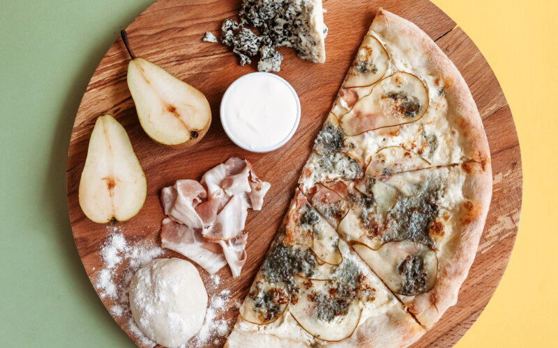 Пицца «Бекон Дорблю»