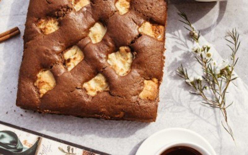Десерт шоколадно-творожный